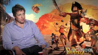 The Pirates! Band of Misfits (2012) Official  Trailer & Cast Interview with Hugh Grant