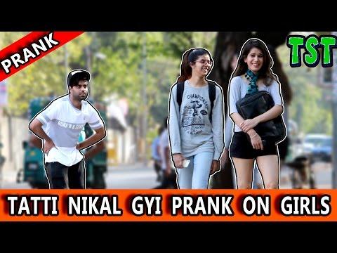 Xxx Mp4 TATTI Nikal Gyi Prank On GIRLS TST Pranks In India 3gp Sex