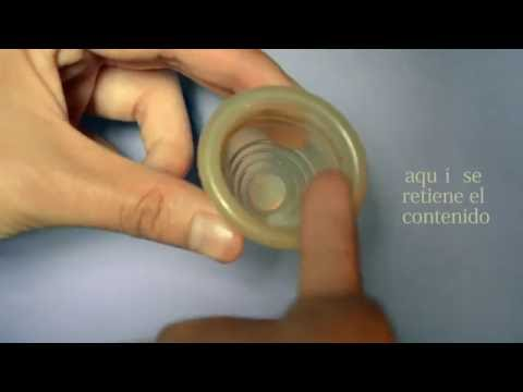 Cómo colocar una copa menstrual ejemplo explícito