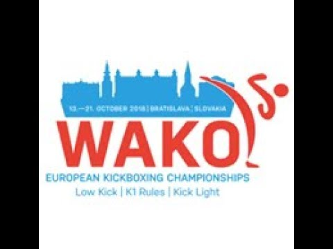 Xxx Mp4 WAKO European Championships 2018 Bratislava Slovakia DAY 3 Ring 1 K1 Style 3gp Sex