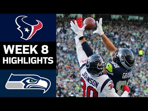 Xxx Mp4 Texans Vs Seahawks NFL Week 8 Game Highlights 3gp Sex