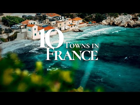 10 Beautiful Towns to Visit in France 🇫🇷 Must See French Towns