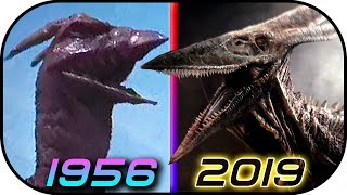 EVOLUTION of RODAN in Movies TV (1956-2019) Godzilla King of the Monsters trailer 2 Rodan scene clip