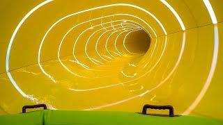 Aquopolis Costa Daurada - New Magic Oval Waterslide Onride POV