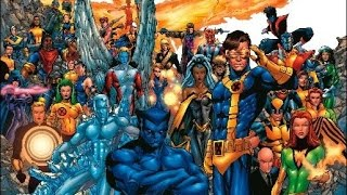 History of the X-Men - 0001 - The X-Men Part 1