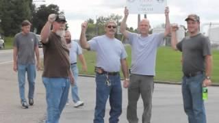 Viskase workers strike