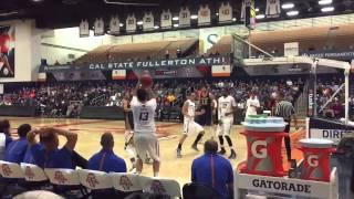 Boise state Broncos vs UC Irvine basketball Nick Duncan