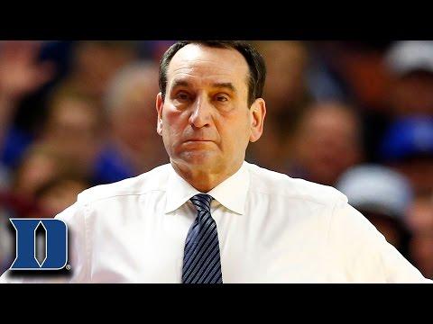 Coach K on Duke Loss to South Carolina in NCAA Tournament I Love This Team