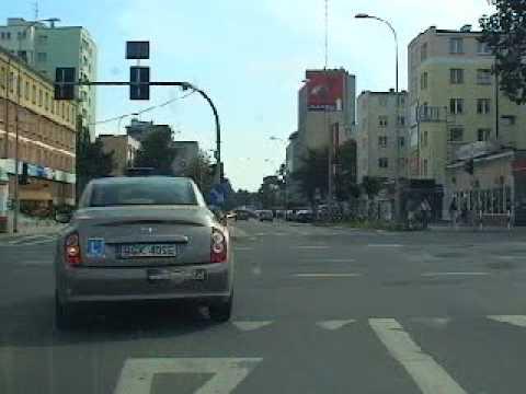NAUKA JAZDY.Jazda w ruchu drogowym cz.19 nowy film Białystok.