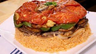 How to make Makloubi / Upside Down Rice (Assyrian Food)