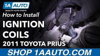 How to Replace Ignition Coils 10-15 Toyota Prius