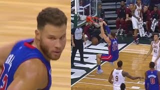 Blake Griffin BULLIES Entire Cavaliers and Shows He