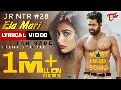 Xxx Mp4 Ela Mari Lyrical Video 2018 By Hemachandra Satya Sagar HBD Jr NTR 28 Fan Made TeluguOne 3gp Sex