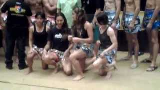 A Little Video from the Muay Thai Warriors Weighin Day - Nong Toom