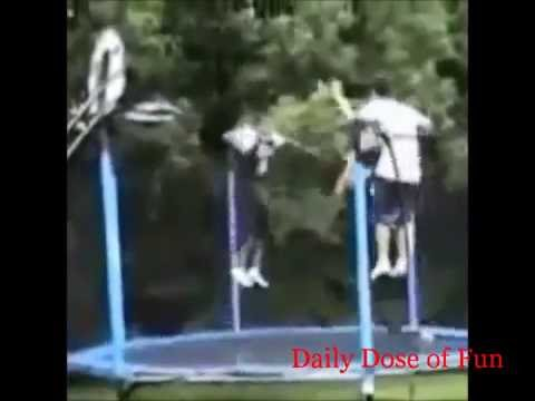 Funny Trampoline Fails Funny trampoline compilation Daily Dose Of Fun