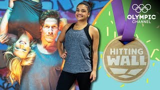 Cheerleaders vs Gymnasts - Laurie Hernandez