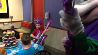 Guitar battle with chuck e cheese