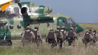 Large-Scale Russian FSB Spetsnaz Drills In Crimea