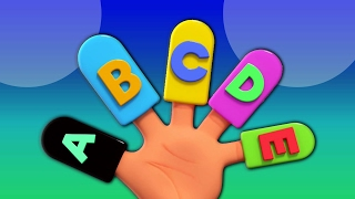 Alphabete Finger Familie   Kinderreim   Learn Alphabets   Educational Video   Alphabet Finger Family