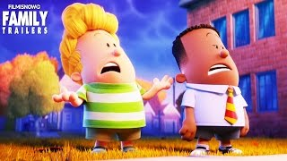Captain Underpants Helps People in a new clip for animated family comedy