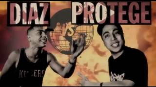 KOTD - Rap Battle - Diaz vs Protege (FlipTop) | #WD2