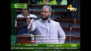 Janab Asaduddin Owaisi Sahab Speech in Lok Sabha on Increasing Communal Violence in Country