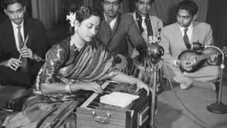 Geeta Dutt, Shanker Dasgupta : Sooraj jaaga dharti jaagi : Film - Aahuti (1950)