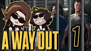 A Way Out: Thicc Prison - PART 1 - Game Grumps