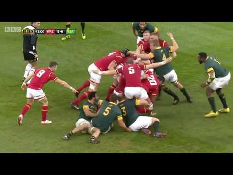 Highlights: Wales 27 - 13 South Africa   WRU TV