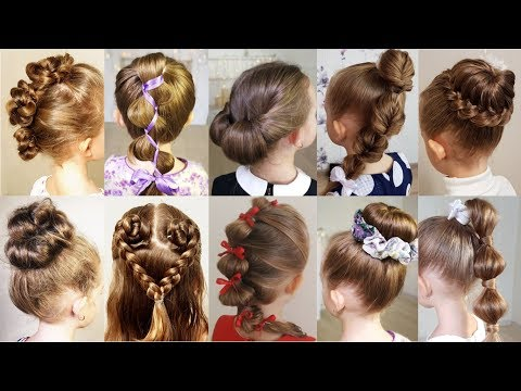 Xxx Mp4 10 Cute 1 MINUTE Hairstyles For Busy Morning Quick Amp Easy Hairstyles For School 3gp Sex