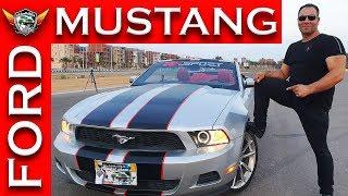 فورد موستانج الأختبار الحقيقى للعضلات الأمريكيه Ford Mustang Review