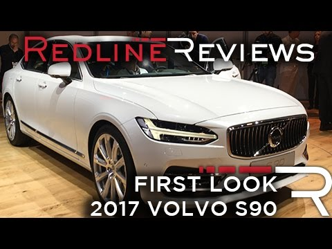 2017 volvo s90 redline first look 2016 detroit auto show. Black Bedroom Furniture Sets. Home Design Ideas