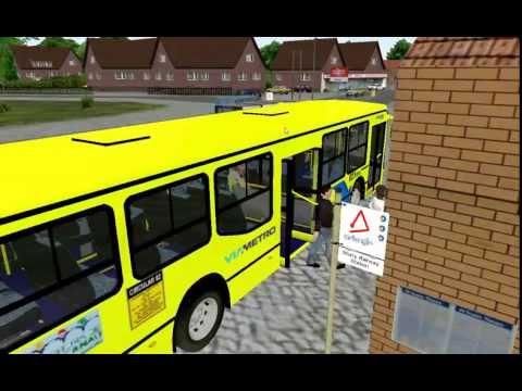 Omsi Bus Simulator 2011 Canterbury Map With The New Busscar Urbanuss Pluss Scania K270
