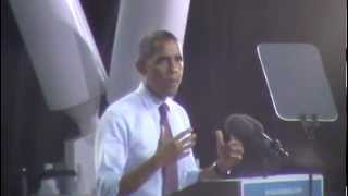 President Barack Obama in Milwaukee (Part 1 of 2) (September 22nd, 2012)