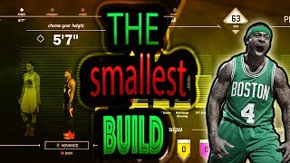 Creation of the Smallest Player in NBA 2K17 - 63 Overall in the Park