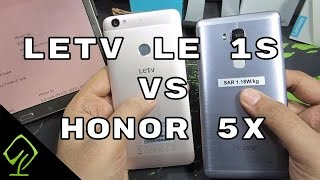 Letv Le 1S vs Honor 5X : Comparison and what to buy