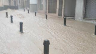 أمطار الخير في إسبانيا
