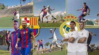 10 Jugadas Que Haran Neymar / CR7 / Messi en el Clasico Español / Tiitanes Futbol