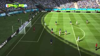 PS4 FIFA World Cup Brasil 2014 Gameplay