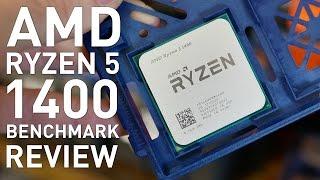 Ryzen 5 1400 Review: AMD R5 1400 vs. Intel i5-7400