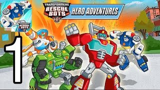 Transformers Rescue Bots - iPhone Gameplay Walkthrough Part 1