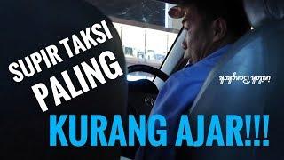 Ribut dengan supir taksi