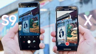 Samsung Galaxy S9 Plus vs iPhone X Camera Test Comparison