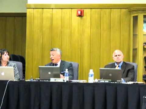 Hempfield School Board Meeting 1/10/12 - Bill Jimenez.MOV