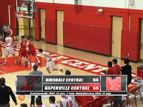 Hisndale Central vs Naperville Central Boys Basketball - December 8, 2012
