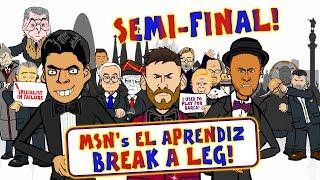 🔴SEMI-FINAL! MSN El Aprendiz🔵 BREAK A LEG!🚑
