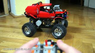 Lego Technic Motorized Peugeot 908 HDi FAP - Live Mobo