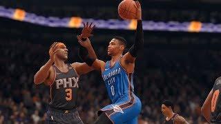 NBA 1/7 - Oklahoma City Thunder vs Phoenix Suns | NBA Jan 7 Full Game Thunder vs Suns (NBA LIVE 18)