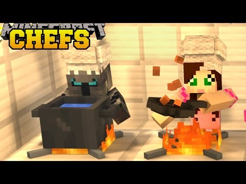 Minecraft WE ARE CHEFS FIND THE SECRET INGREDIENTS Custom Map