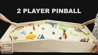 Make a 2 Player Pinball Game // X-Carve Project